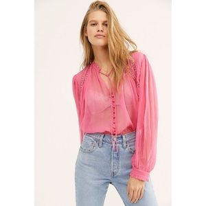 NEW Free People Long Live Love blouse